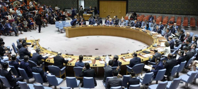 Conselho de Segurança. Foto: ONU/Manuel Elias