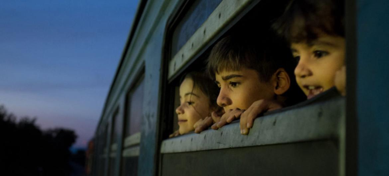Milhões de famílias foram forçadas a fugir de suas casas e por várias vezes debaixo de fogo. .Foto: Unicef/Ashley Gilbertson VII