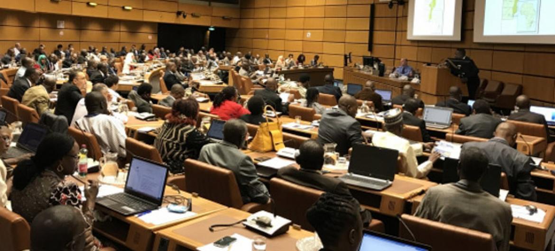 Mais de 150 pessoas participaram do encontro na sede da Aiea, em Viena, Áustria. Foto: Aiea