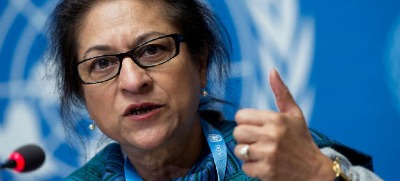 Asma Jahangir. Foto: ONU/Jean-Marc Ferré