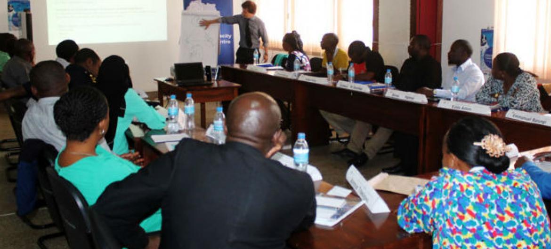 O objetivo do curso é reforçar a capacidade dos países africanos no controlo de suas fronteiras e na entrada de migrantes. Foto: OIM