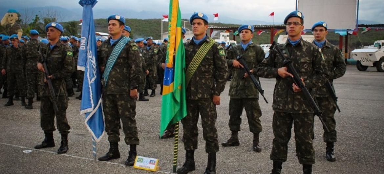 Brasil dirigiu tropas internacionais no Haiti desde o início das missão em 2004. Foto: Minustah.