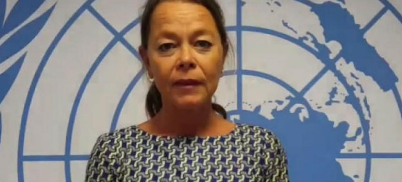 Ulrika Richardson. Imagem: Reprodução vídeo