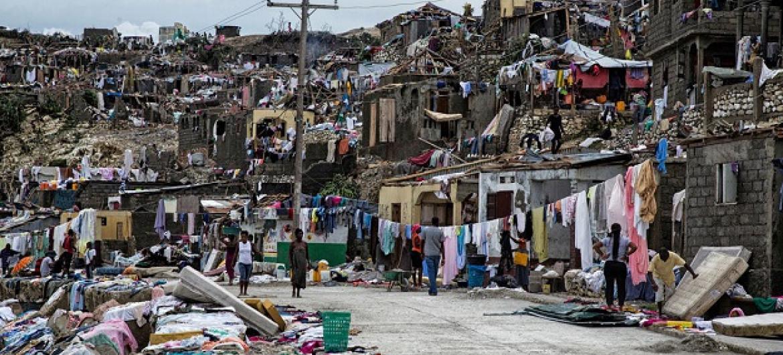 Furacão Matthew atingiu região em outubro passado