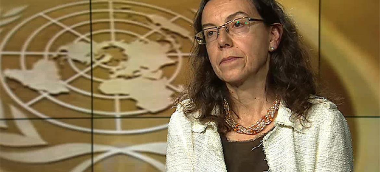 Resultado de imagem para A vice-secretária-geral das Nações Unidas Ana Maria Menéndez