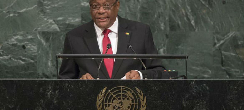 Presidente de São Tomé e Príncipe, Evaristo Carvalho. Foto: ONU/Cia Pak