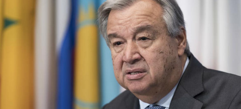 Secretário-geral da ONU, António Guterres. Foto: ONU/ Mark Garten