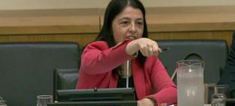 Sandra Carvão. Imagem: Reprodução vídeo