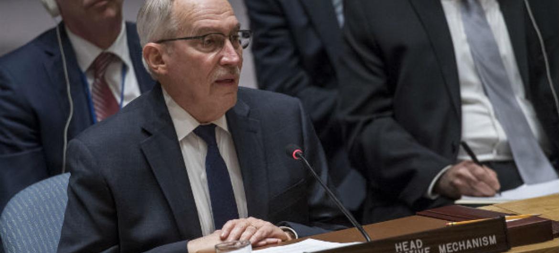 Edmond Mulet no Conselho de Segurança. Foto: ONU