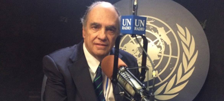 Antônio Augusto Cançado Trindade, juiz da Corte Internacional de Justiça. Foto: ONU News