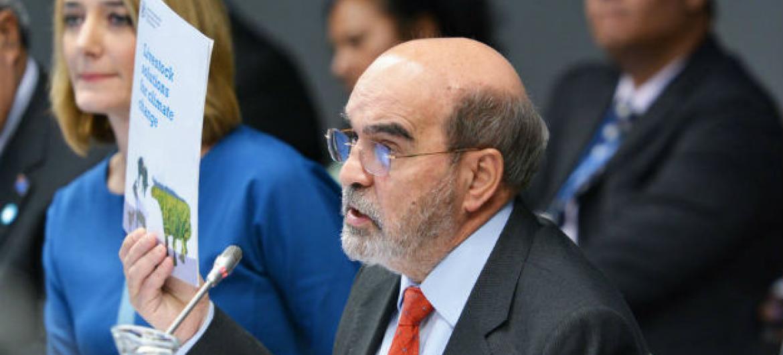 José Graziano da Silva na Conferênciasobre Mudança Climática, em Bonn, na Alemanha. Foto: FAO