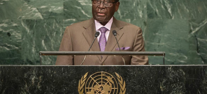 Robert Mugabe. Foto: ONU.