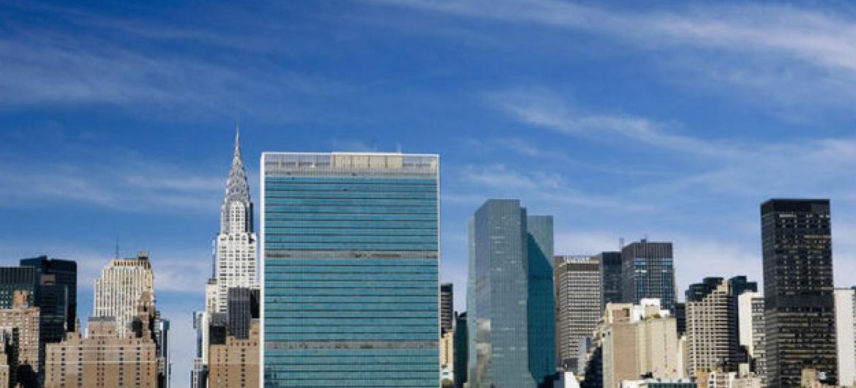 Sede das Nações Unidas em Nova Iorque. Foto: ONU/Mark Garten