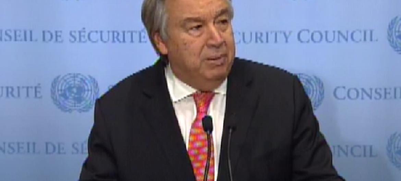 António Guterres. Foto: Reprodução.