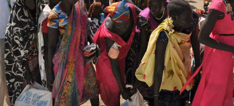 O Ocha prevê o agravamento da insegurança alimentar no Sudão do Sul, entre janeiro e março de 2018. Foto: Ocha/Gemma Connell