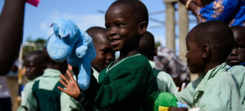 Criança sul-sudanesa em Yei, no Sudão do Sul. Foto: Unicef/Hatcher-Moore