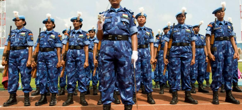 De acordo com as Nações Unidas, cerca de 4% das forças militares são mulheres. Foto: ONU