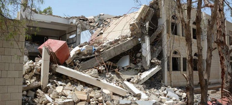 ONU destaca que equipes médicas não podem chegar aos feridos. Foto: Ocha/P.Kropf