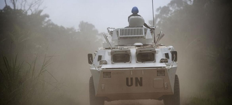 ONU quer pessoal devidamente treinado, equipado e com mentalidade orientada ao sucesso nas tarefas em ambientes difíceis no terreno. Foto: ONU.