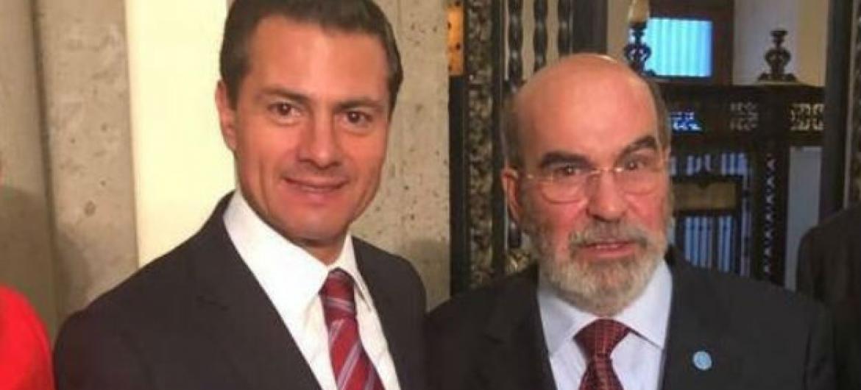 Presidente do México, Enrique Peña Nieto, recebeu diretor-geral da FAO, José Graziano da Silva, durante Fórum Indígena. Foto: FAO