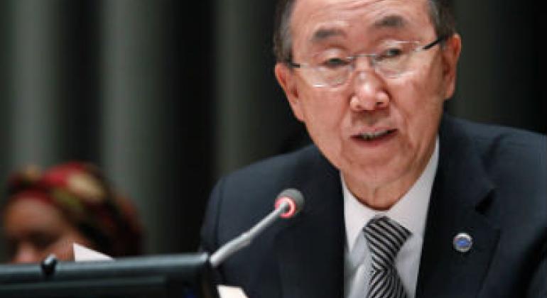 Ban Ki-moon. Foto: ONU/Paulo Filgueiras