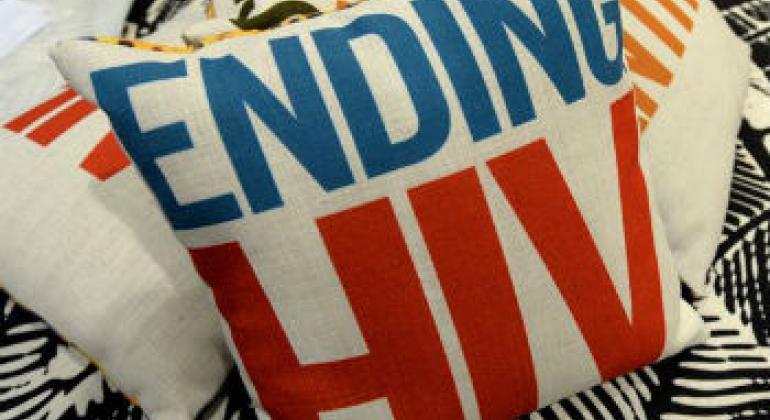 Progressos no combate à epidemia. Foto: Unaids