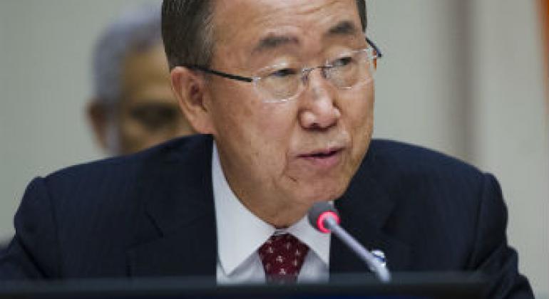 Ban Ki-moon. Foto: ONU/Amanda Voisard
