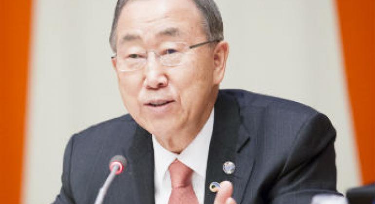Ban Ki-moon. Foto: ONU/Rick Bajornas