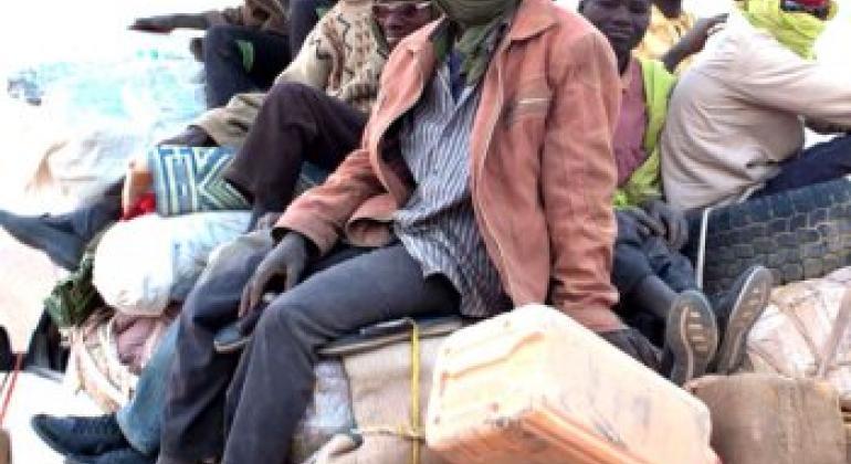 Migrantes relatam experiências de abusos. Foto: Joe Penney