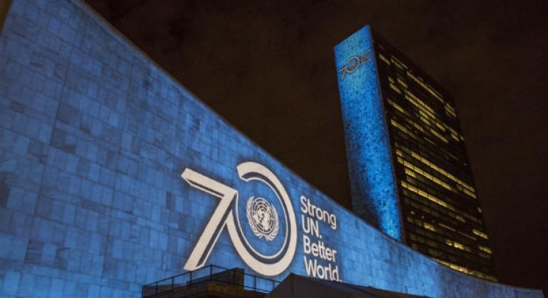Comemoração dos 70 Anos das Nações Unidas. Foto: ONU/Cia Pak