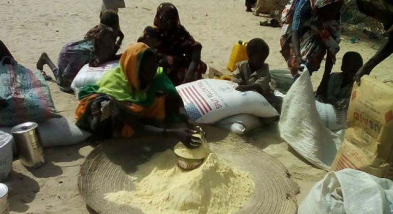 PMA tem somente um terço dos US$ 208 milhões que precisa para as ações de resposta humanitária até abril de 2017. Foto: PMA África Ocidental