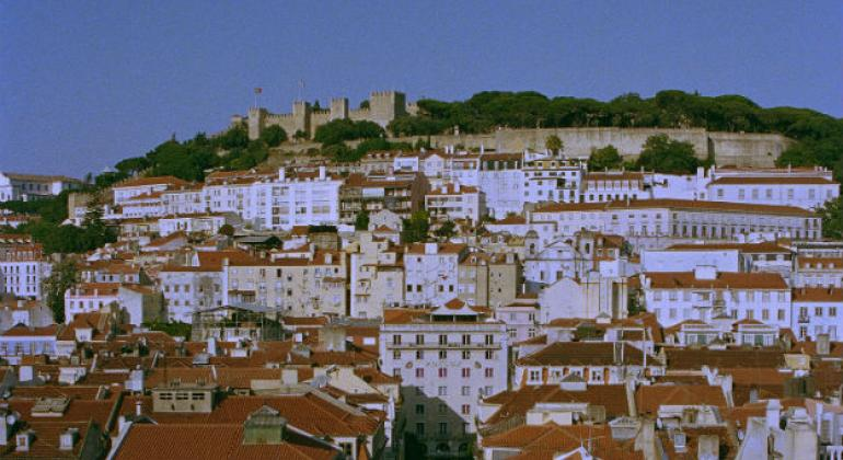 Vista do Castelo de São Jorge em Lisboa, Portugal. Foto: © Clara Pereira