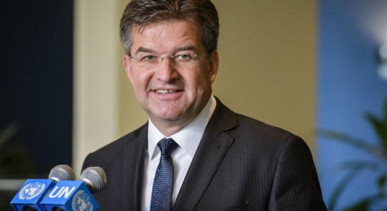 O presidente da Assembleia Geral, Miroslav Lajčák. Foto: ONU/Manuel Elias