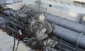 Escombros da usina nuclear de Fukushima-Daichi após o terremoto e tsunami no Japão. Foto: Aiea/Gill Tudor