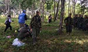 Integrantes das Farc-EP. Foto: Missão da ONU na Colômbia