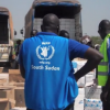 Trabalhador do PMA no Sudão do Sul. Foto: PMA