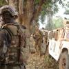 Forçade Reação Rápida Portuguesa atando na área centro-africana em Bambari. Foto: Missão de Portugal junto à ONU.