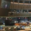 Umaro Sissoco Embaló discursando na Assembleia Geral da ONU.