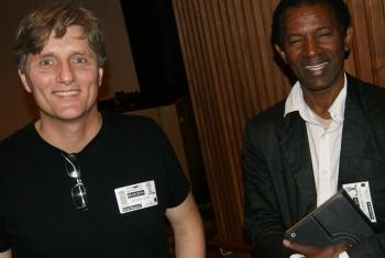 Brian King e Zé Manel.