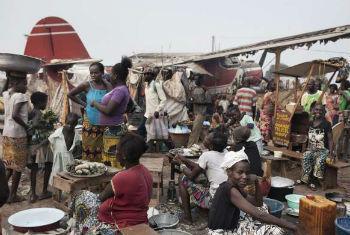 Deslocados internos na República Centro-Africana. Foto: Acnur/A. Greco