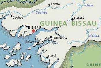 Mapa de Guiné-Bissau