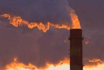 O CO2 permanece na atmosfera por centenas de anos. Foto: Pnuma