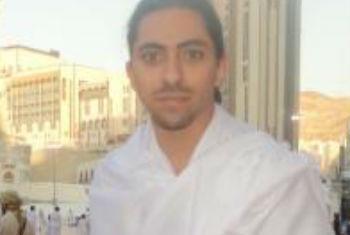 Raef Badawi. Foto: Reprodução Twitter/Arquivo pessoal