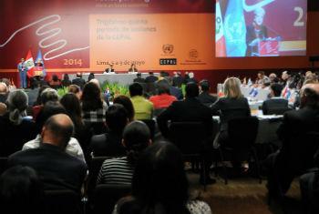 Reunião da Cepal em Lima. Foto: Foto: Daniel Malpica/Peru