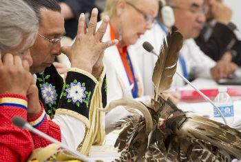 Fórum Permanente sobre Questões Indígenas acontece na sede da ONU em Nova York. Foto: ONU/Eskinder Debebe