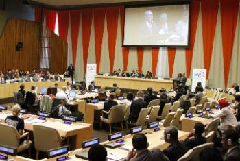 Reunião acontece na sede da ONU. Foto: ONU/Paulo Filgueiras