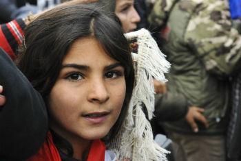 Refugiados sírios. Foto: ONU/Fabienne Vinet
