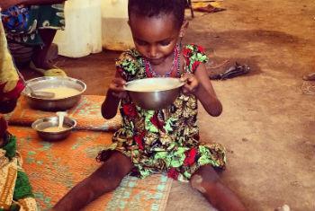 Criança refugiada no Chad. Foto: Acnur/C. Schmitt