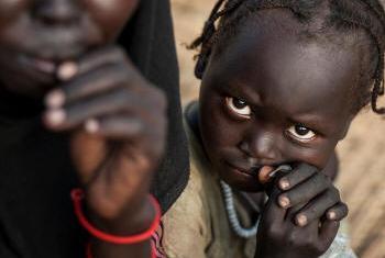 Refugiados no Sudão do Sul. Foto: Acnur/Sebastian Rich