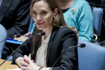 Angelina Jolie. Foto: ONU/Rick Bajornas
